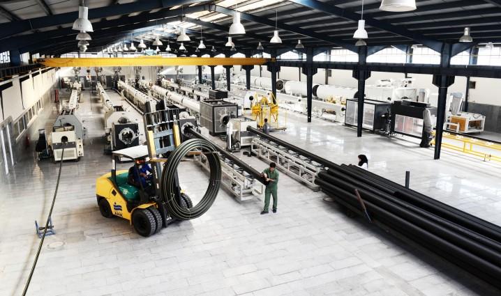 ایران دارای 270 واحد تولید لوله پلی اتیلن
